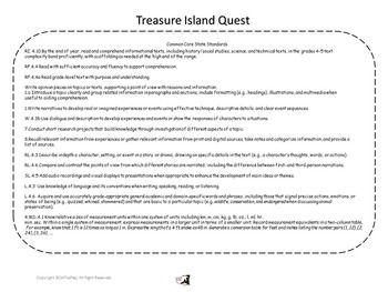 Treasure Island Unit Lesson Plans