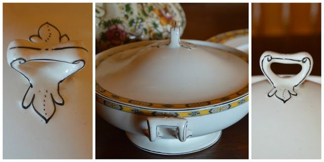 De Oude Huize Yard: Grandma and her love for beautiful crockery
