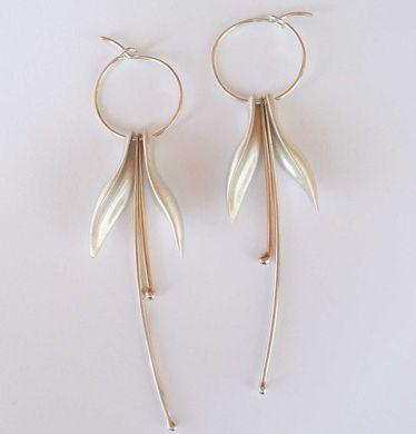 Kiri+Schumacher+:+Fuchsia+Hoop+Earrings