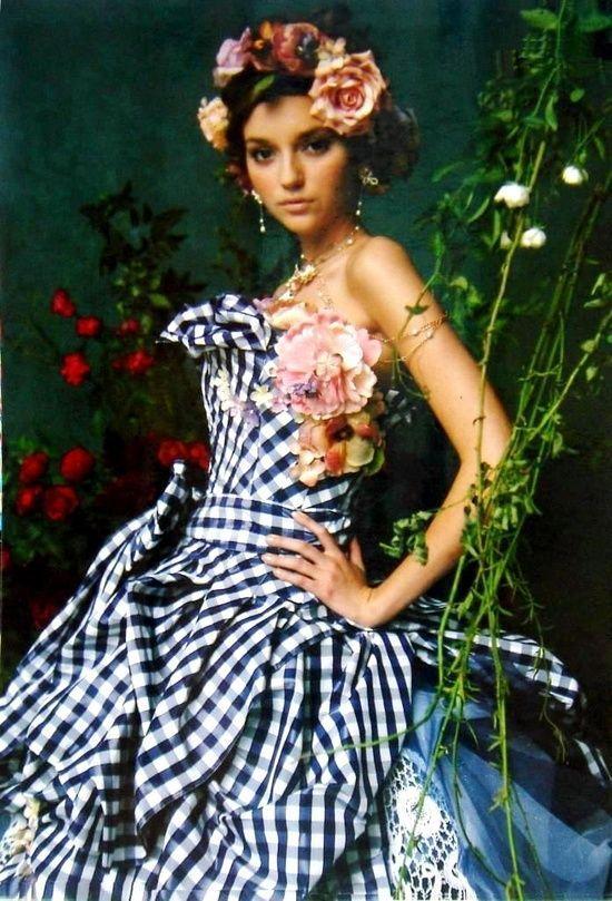 Stella De Libero Roses and Dreams | Stella de Libero, gown, couture, wedding, bridal, dress, fantasy ...