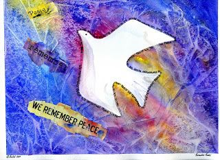 Peace Dove from That Artist Woman
