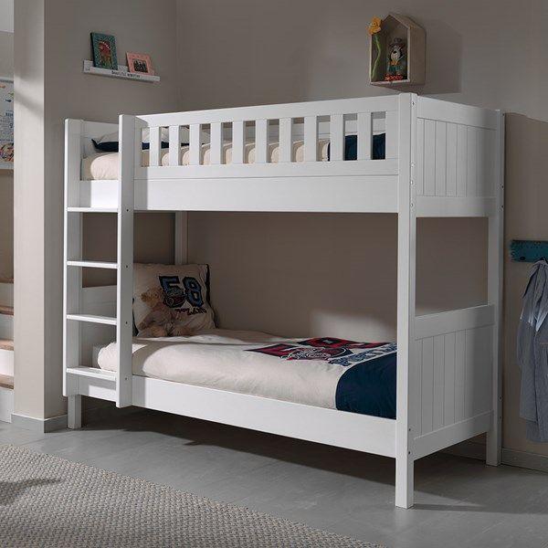 Loft Bed Kopen.Lewis Kids Bunk Bed In White In 2019 Bunk Beds Kids Bunk