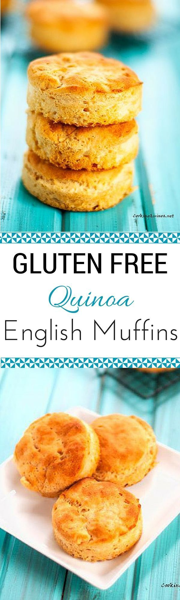 Gluten Free Quinoa English Muffins - It is hard to believe these ...