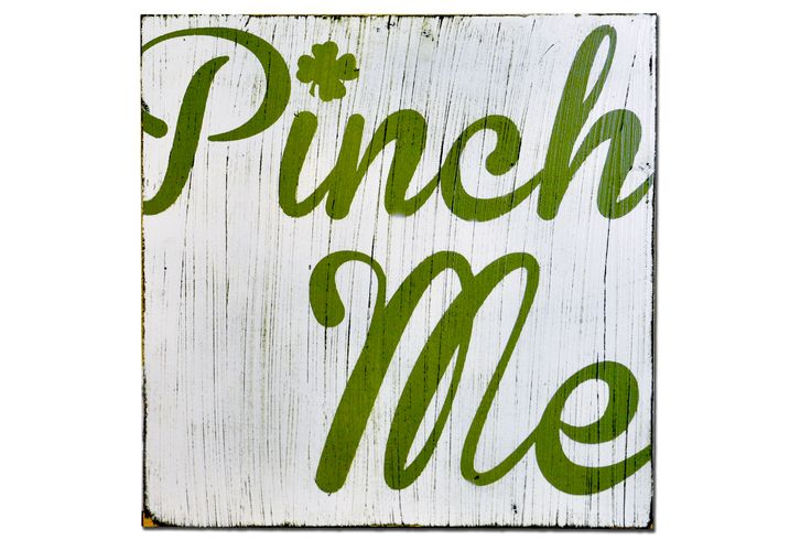 DIY Pinch Me Subway Art Plaque by Poppy Seed Projects
