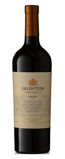 Salentein Barrel Selection Malbec:  Een fantastische grote Argentijnse  rode wijn. Diep violet van kleur, zachte tannines en subtiele houtaroma's. Zeer gul en vlezig met zwart fruit, bessen en chocolade. Prachtige gerookte en eikenhouten tonen bij de finale. Een combinatie van moderne en traditionele technieken. De druiven worden met de hand geplukt. Deze wijn heeft 13 maanden houtrijping gehad. De rijping geschiedt op nieuwe Franse eiken vaten en na botteling nog 6 maanden op fles.
