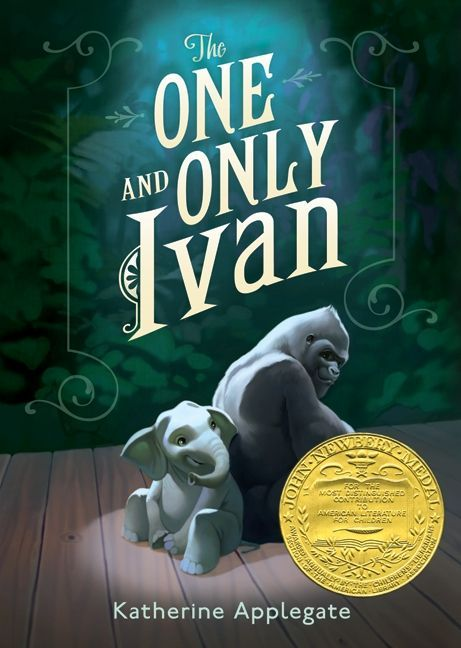 This website contains a book review and provides several teaching ideas to use while reading for The One and Only Ivan.