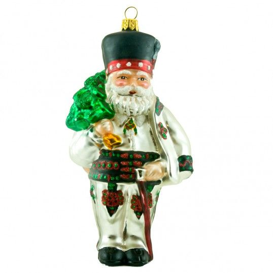 Santa in polish folk costume