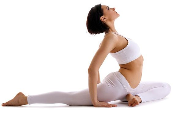 Pigeon Pose is a popular hip opening pose.