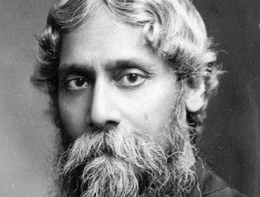 Rabindranath Tagore  :) Em 1919, como forma de protesto contra a política britânica, renunciou ao título de Sir concedido pela Coroa Britânica em 1915.