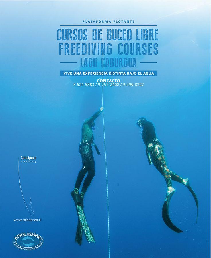 Cursos de Buceo Libre | Freediving Courses en el Lago Caburgua