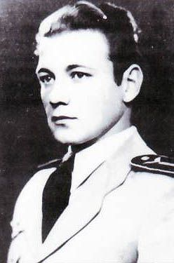 2nd Lt. Istvan Kalman, WWII Hungarian ace with 12 victories.