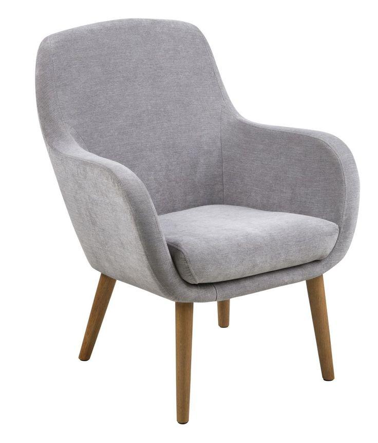 Sabella fauteuil grijs - Robin Design