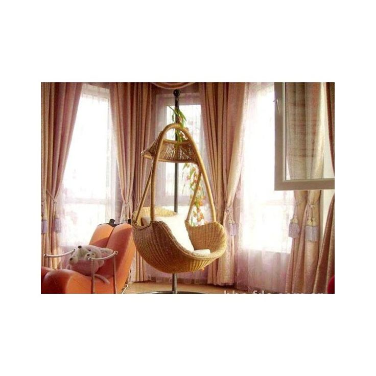The 25 best indoor hanging chairs ideas on pinterest - Indoor hammock hanging ideas ...