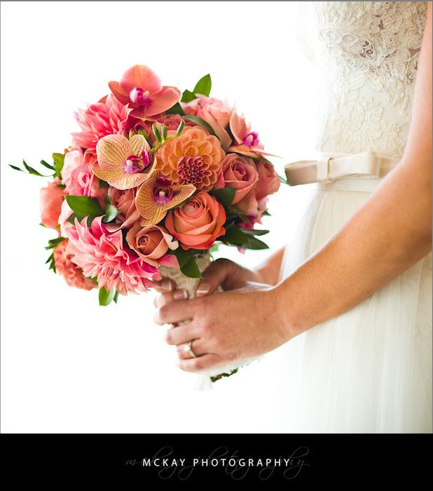 Stunning wedding bouquet - made my Whitehouse Flowers in Manly Sydney