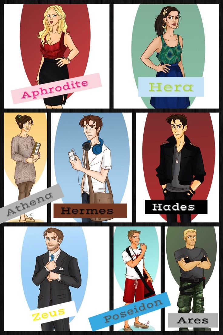 This is like what the Gods and Goddesses would look like if they were in high school :D