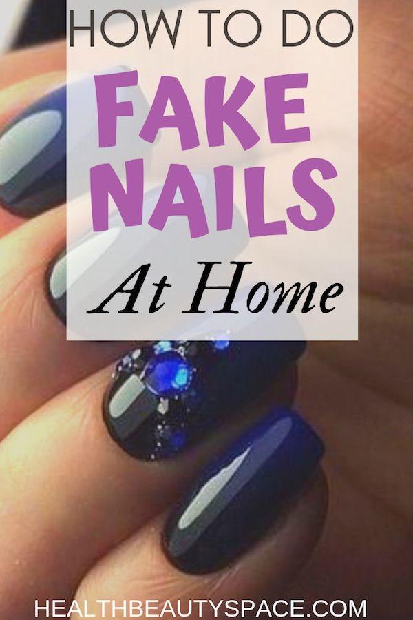 How to Apply Fake Nails At Home For Under $30 | Nails | Nails at ...