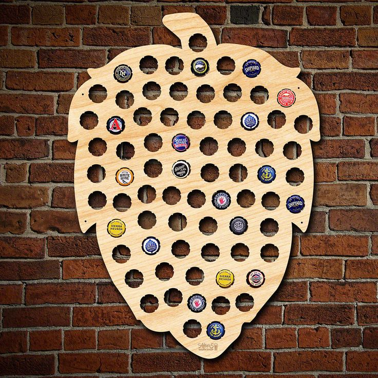 Bottle Cap Holder of Beer Hop - Unique Gifts for Craft Beer Drinkers - Like Beer Cap Map Creates Fun Art! - Microbrewers and Home Brewers by HomeWetBar on Etsy https://www.etsy.com/listing/262907301/bottle-cap-holder-of-beer-hop-unique
