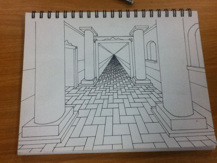 Cool One Point Perspective Drawings 66 best One Point Pers...