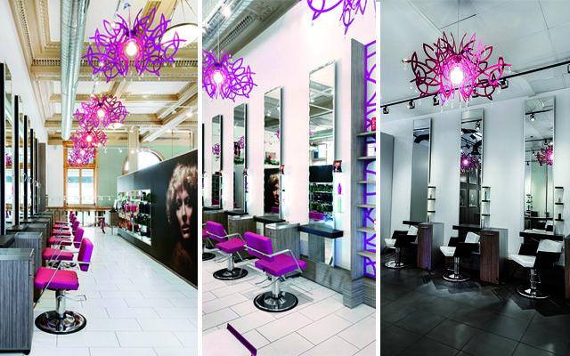 Mejores 11 im genes de 05 espacios peluquer as en for Iluminacion para peluquerias