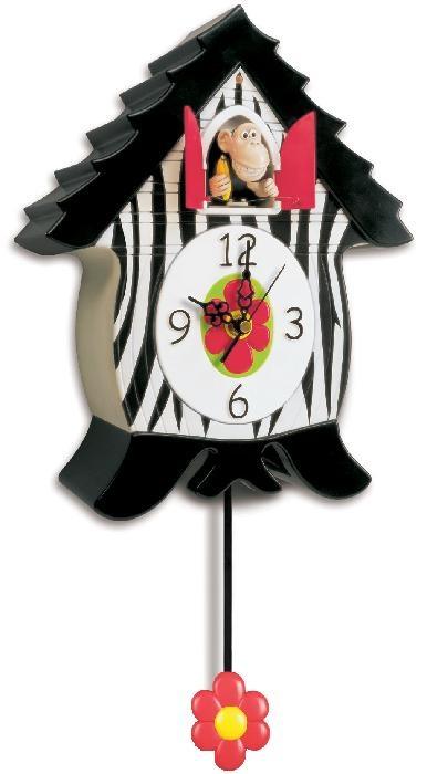 Monkey Cuckoo Clock