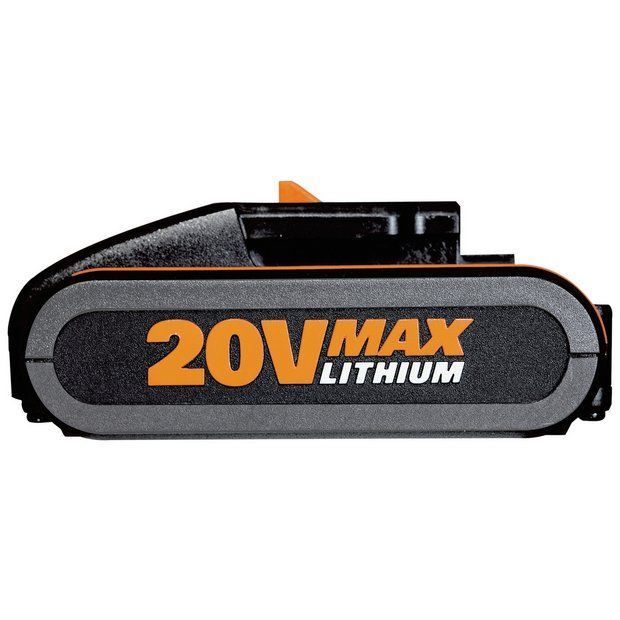 Buy Worx Max Powershare Li-Ion Battery Pack - 20V at Argos.co.uk - Your Online Shop for DIY power tool accessories, DIY power tools, DIY tools and power tools, Home and garden.