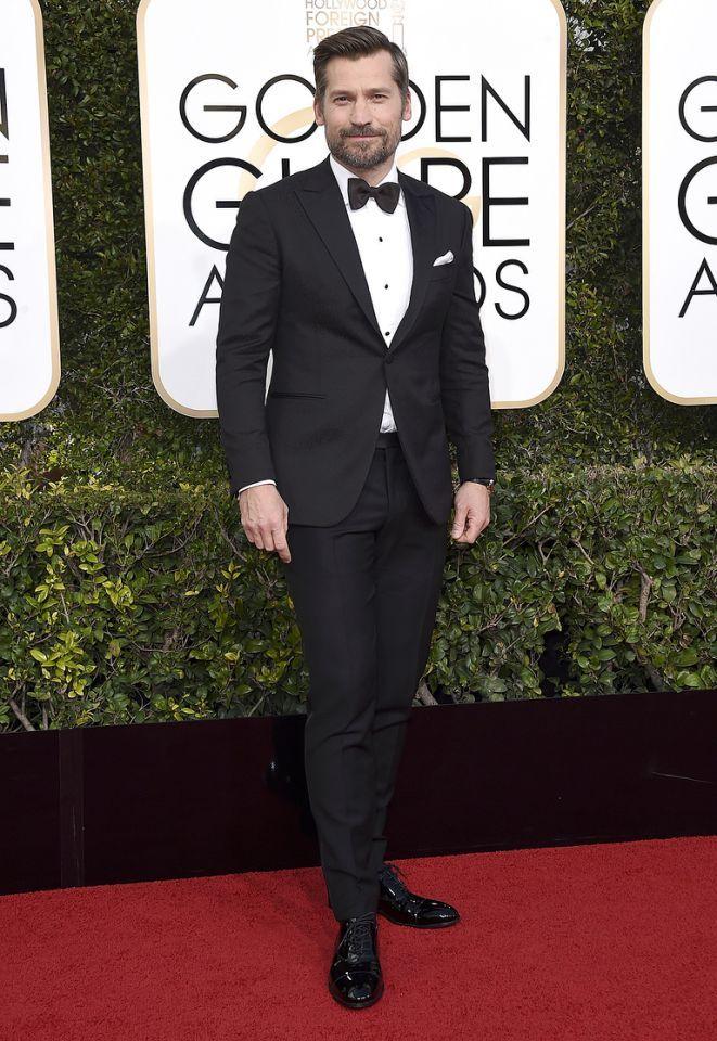 Nikolaj Coster-Waldau - 2017 Golden Globes