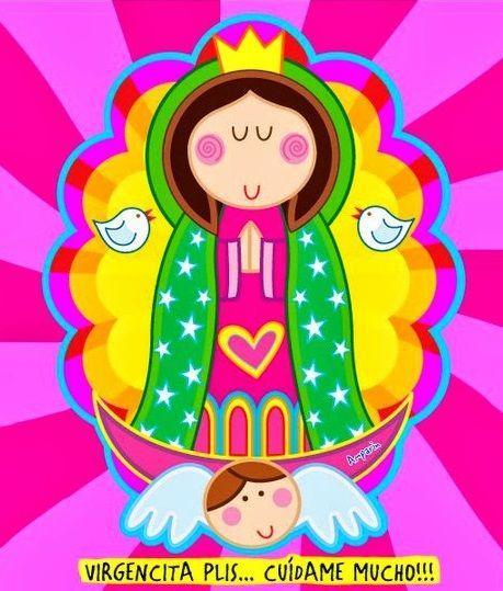 Virgencita Comunion Primera Plis Para