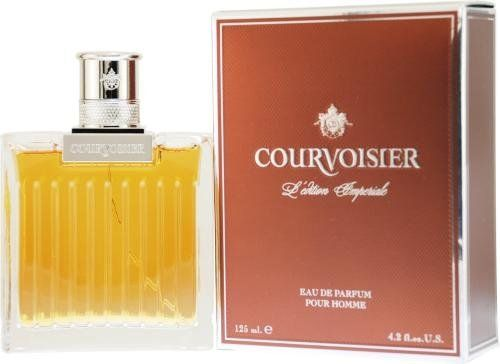 Courvoisier Imperiale by Courvoisier for Men. Eau De Parfum Spray 4.2-Ounces by Courvoisier. $84.19. Packaging for this product may vary from that shown in the image above. This item is not for sale in Catalina Island. When applying any fragrance please consider that there are several factors which can affect the natural smell of your skin and, in turn, the way a scent smells on you.  For instance, your mood, stress level, age, body chemistry, diet, and curr...