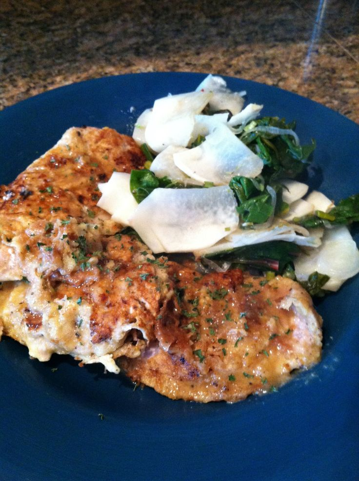 Good morning!!! I hope everyone is rocking on this fine day. Last night I was feeling especially sassy so decided to make The Fuzz some veal. One of my fave dishes is Veal Scallopini. I love veal. ...