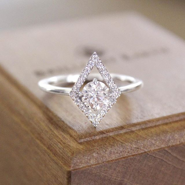 This just in... our brand new Lucy Diamond Ring! #BrilliantEarth