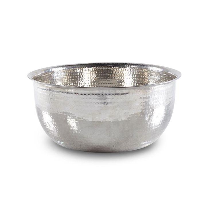 Noel Asmar Hammered Stainless Steel Pedicure Bowl