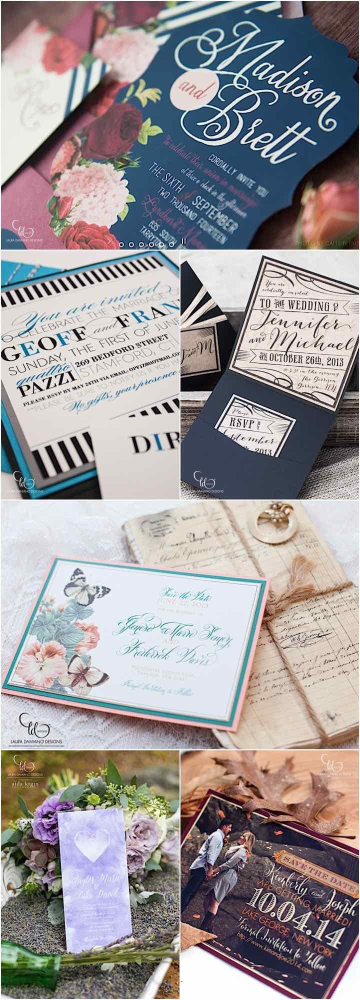 custom wedding invitations nashville%0A Giveaway  Win     Wedding Invitations and RSVP Cards from Laura Damiano  Designs