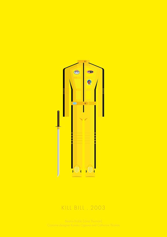 Movies made minimal in this costume collection | Illustration | Creative Bloq