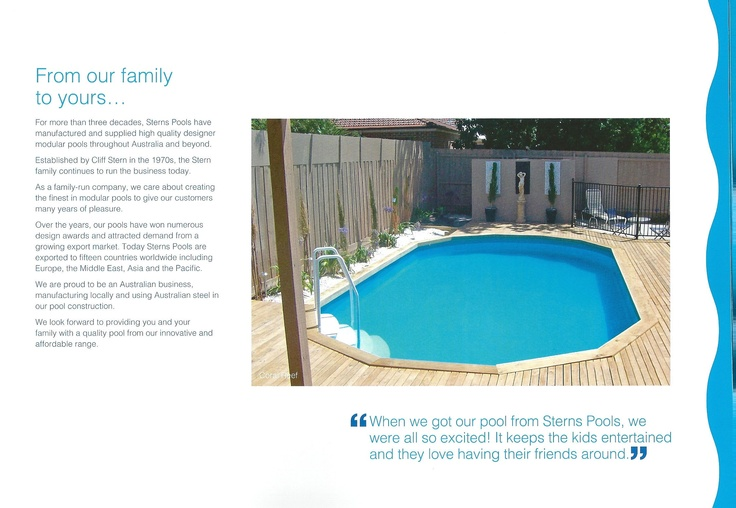 1000 images about sterns above ground pools on pinterest for Above ground pool decks brisbane