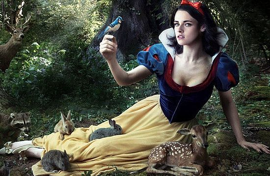 Snow White and the Huntsman... Still not sure how I feel about Kristen Stewart playing Snow White.