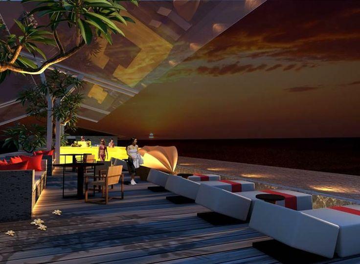 Sky Pool Meritus Seminyak Bali www.madepropertybali.com