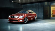The Mercedes C350 Coupe :)