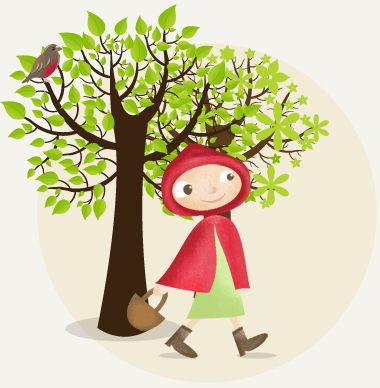 Le Petit Chaperon Rouge - Learn French with French Children's Stories