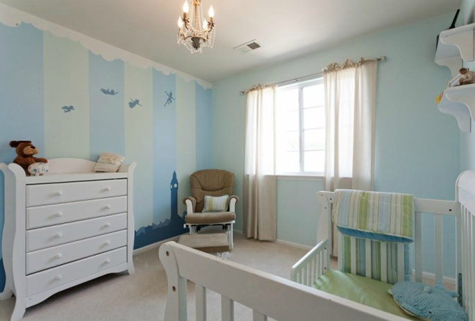Our Little Baby Boy S Neutral Room: Our Neutral Nursery. Subtle Peter Pan Theme.