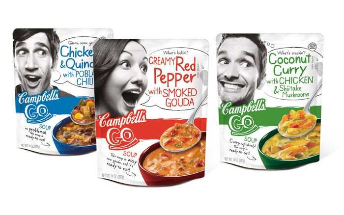 Packaging of the World: Creative Package Design Archive and Gallery: Campbell's Go