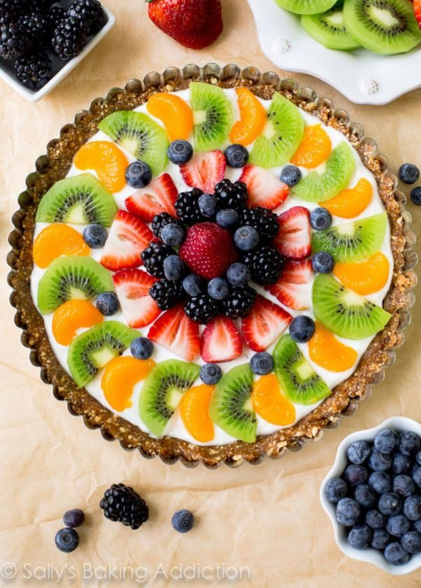 healthy fruit pizza recipe fruits with pits