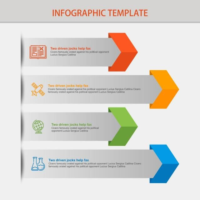 Infographics Design Template Bar Business Chart Png And Vector