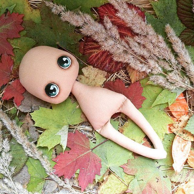 Новый осенний фон для моих девочек #олли #куклаизткани #куколка #кукла #куклаолли