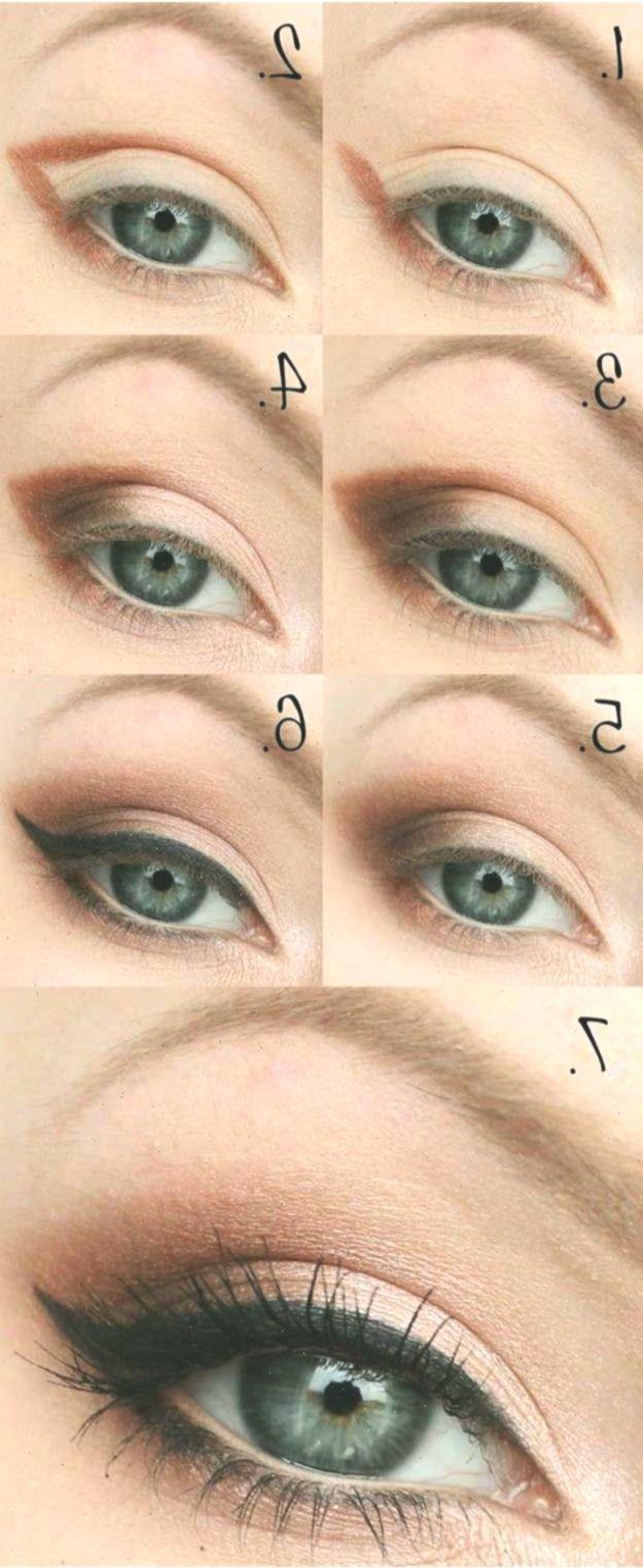 Hochzeit Make-up für blaue Augen - Natürliche und einfache
