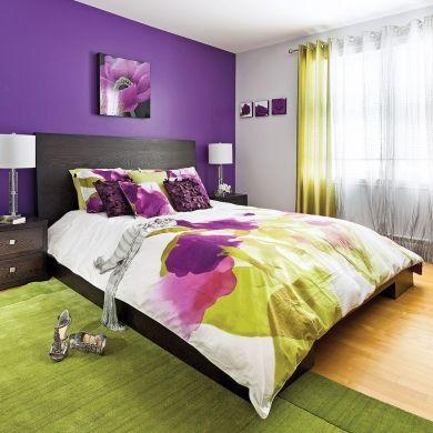 Complémentarité funky - Chambre - Inspirations - Décoration et rénovation - Pratico Pratiques