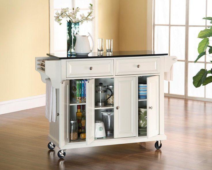 furniture solid black granite top kitchen cart island white solid black granite top portable kitchen island walmart