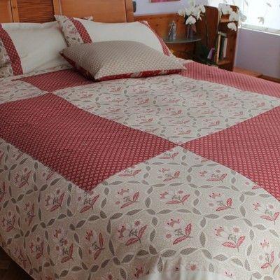 Conjunto cama en patchwork