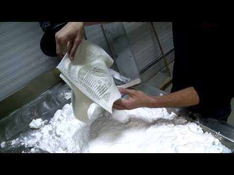 """Iris van Herpen has once again taken 3D Printed fashion to new heights with her latest Paris Haute Couture show: Voltage. In this video, you will see the """"making of"""" one her latest printed designs; created in collaboration with Austrian architect Julia Koerner and 3D printed by Materialise.    3D Printed through the process of Laser Sintering, the..."""