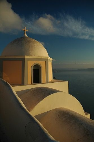 Cycladic #Church at #Santorini island  <3
