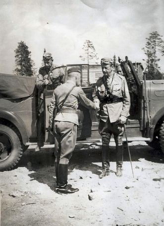Marsalkka C.G Mannerheim. 1940's, pin by Paolo Marzioli